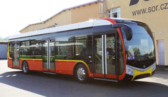 Nové elektrobusy pro Hradec