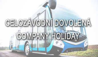 Služby přes celozávodní dovolenou